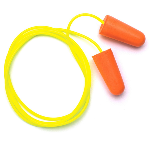 Picture of Pyramex DP1001 Disposable Corded Polyurethane Foam Ear Plugs - 31 NRR