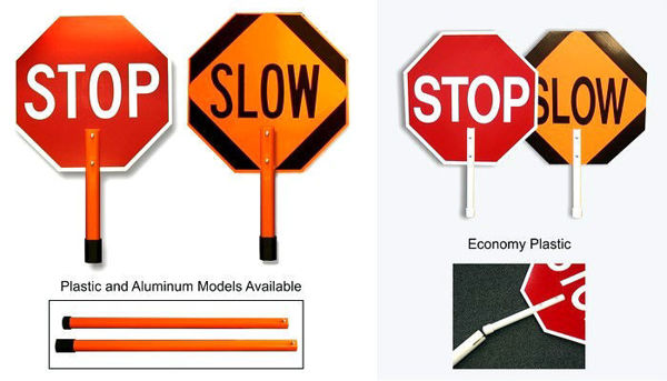 Picture of Stop/Slow Paddles