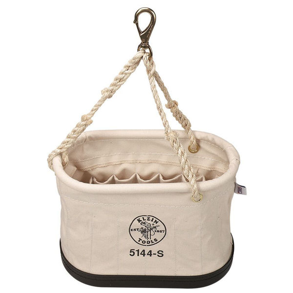 Picture of Oval Bucket, 15 Pocket With Snap